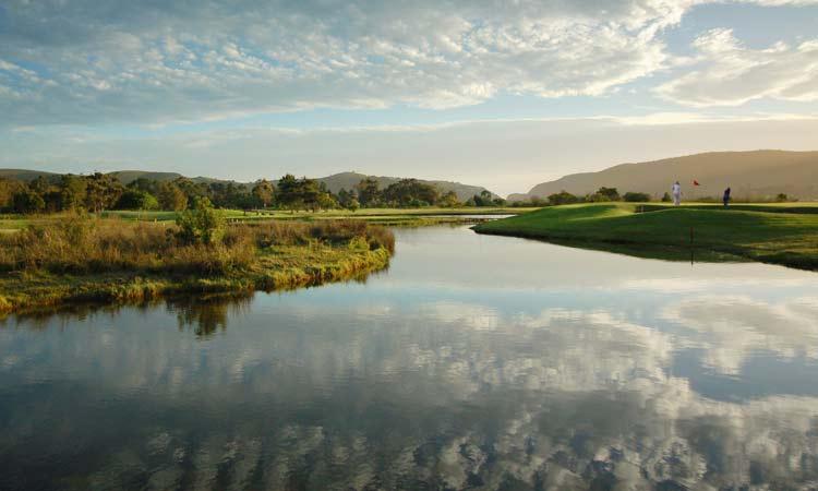Knysna Golf Club Hole 12