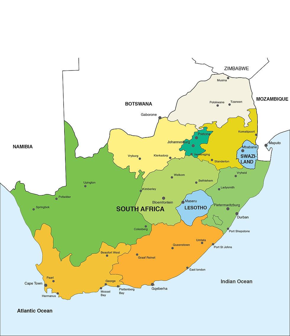 MAP OF SOUTH AFRICA R2 No Provinces-01.j
