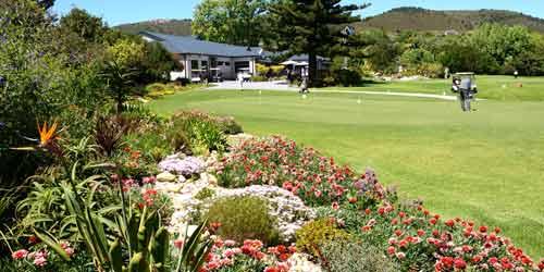 Knysna Golf Club Practice Area