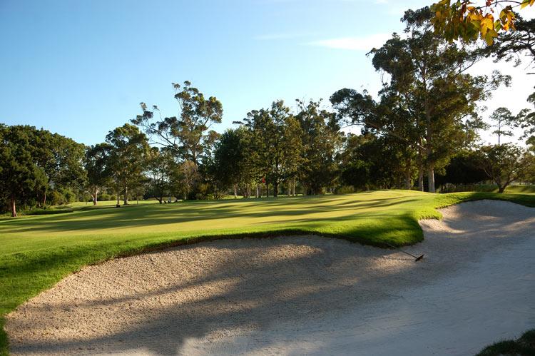 Knysna Golf Club Hole 1