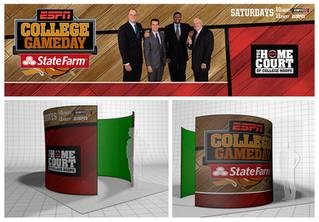 ESPN College Gameday | Green Screen Booth Design