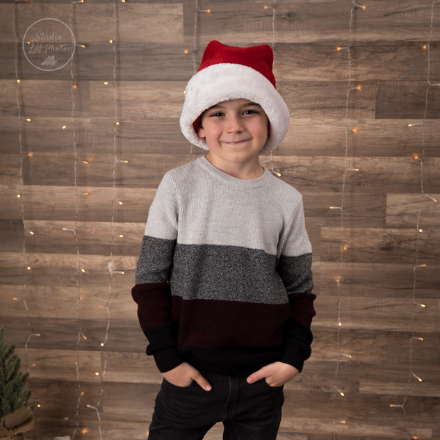 garçon de 8 ans décor Noël