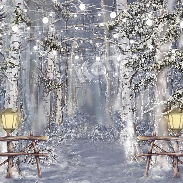 fond de scene forêt