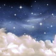 nuit d'étoiles - fond pour nouveau-né