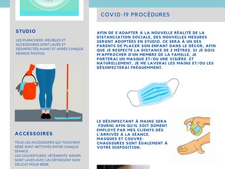 Photographie et coronavirus - Mise à jour
