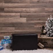 mur en lattes de bois