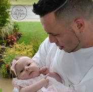 photo de papa avec bébé