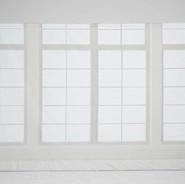 fenêtre blanc-crème