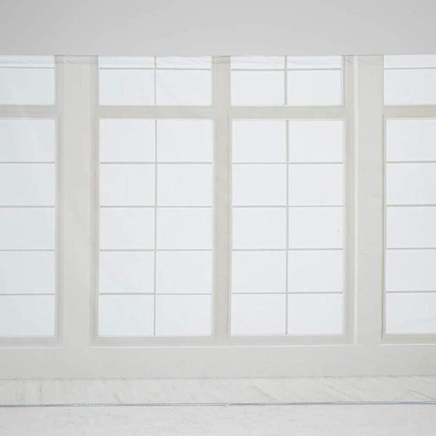 fenêtre fond blanc
