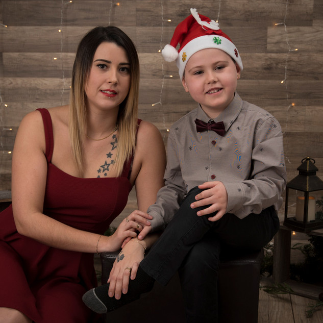 mini de Noël maman et moi