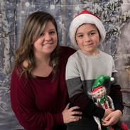 mini de Noël mère et fils
