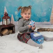 bébé de 18 mois mini de Noël
