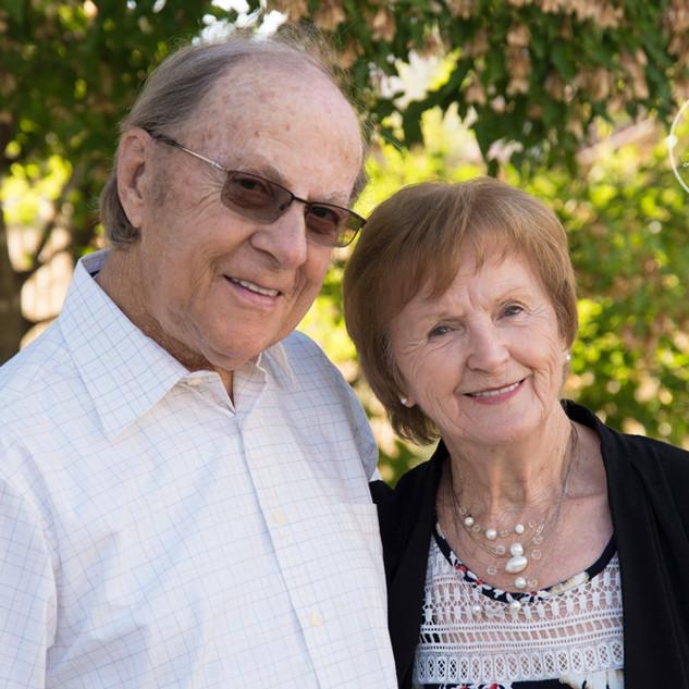 photo de couple pour leur 60e