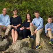 photo de famille trois enfants