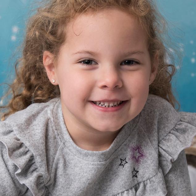 portrait enfant de 5 ans