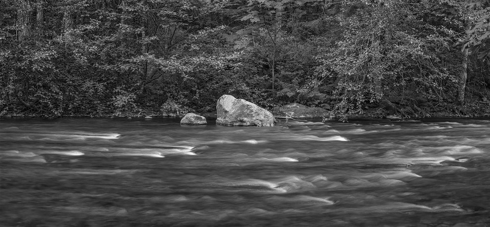 CAMPBELL RIVER, FLOWING WATERS