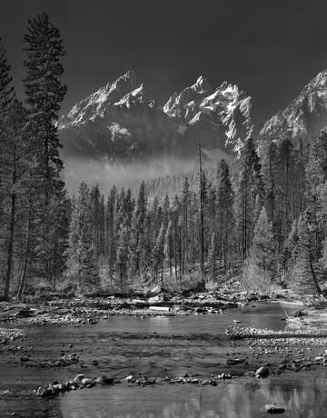 Tetons and Creek