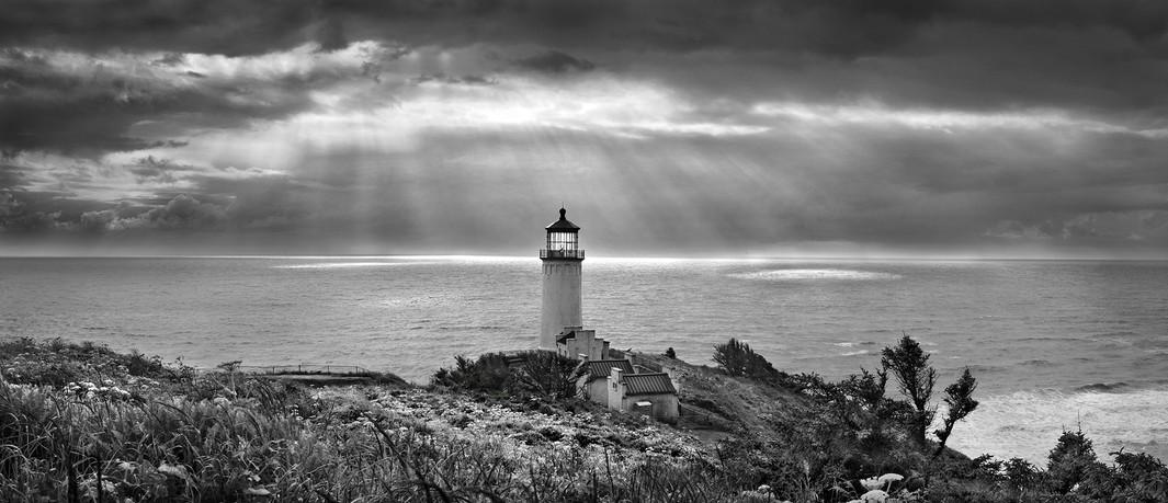 North Lighthouse, Rain