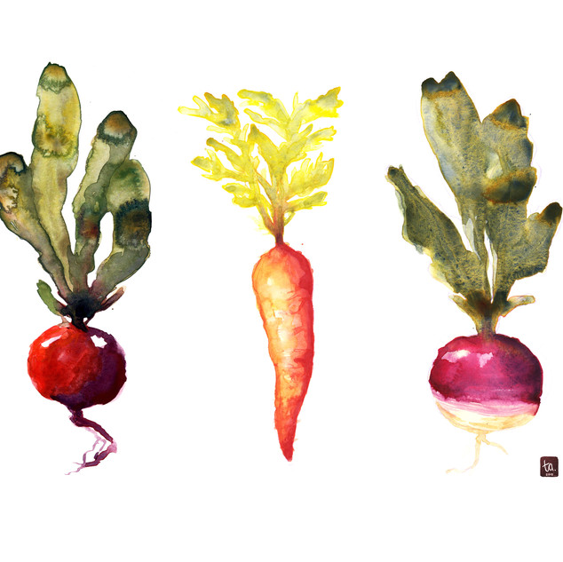 Paint Your Veggies