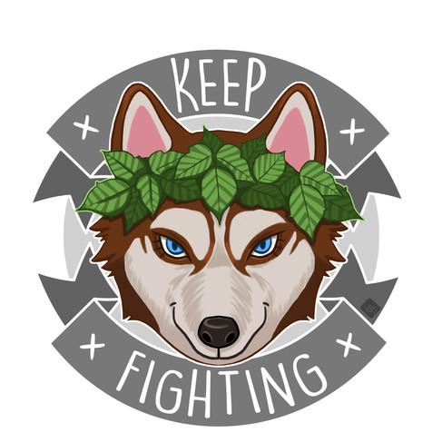 Fighting Pup