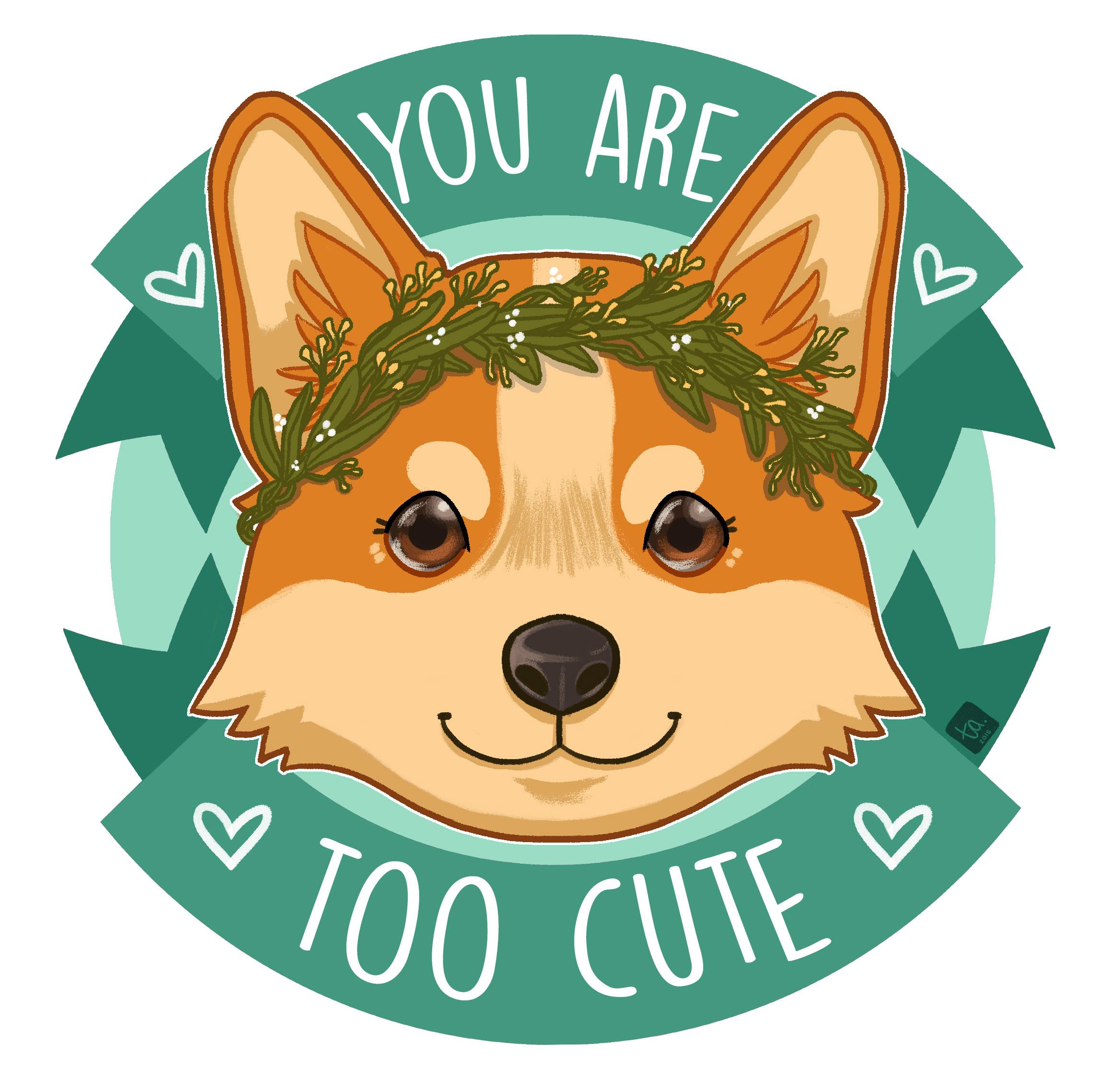 """Too Cute Doggo"""