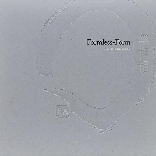"""Libro """"FORMLESS - FORM"""", Ronald Y. Nakasone"""
