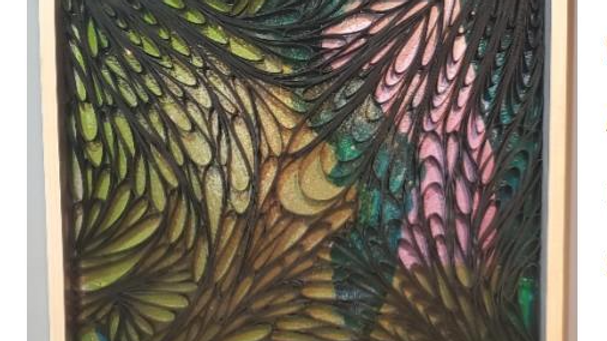 """Fine Art by Jacqueline Bell Johnson """"Dragon Scales 13"""" from """"The Image Captured"""""""