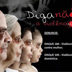 Diga não a violência!
