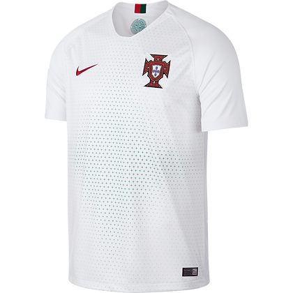 Nike Official Portugal Away Stadium Jersey