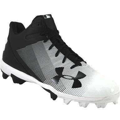 Leadoff Mid Under Armour Baseball Cleats