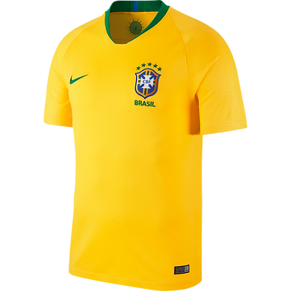 Nike Official Brasil Home Stadium Jersey