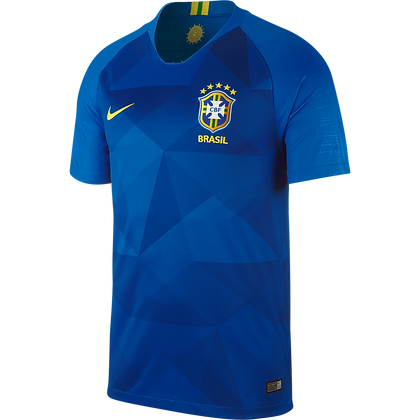 Nike Official Brasil Away Stadium Jersey