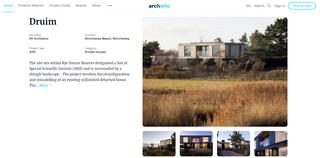 Druim Featured in Architecture Journals