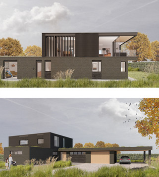 New house submitted for full planning