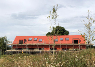 West Sussex Winery Accomodation Nears Completion