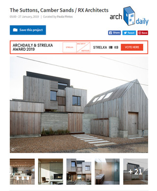 Suttons Beach House Featured on Archdaily