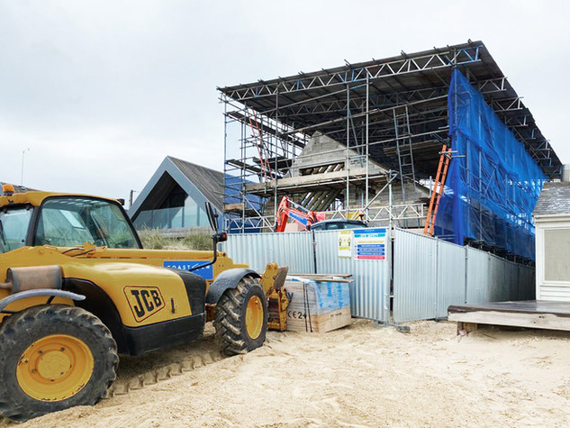 Seabreeze Construction Progress