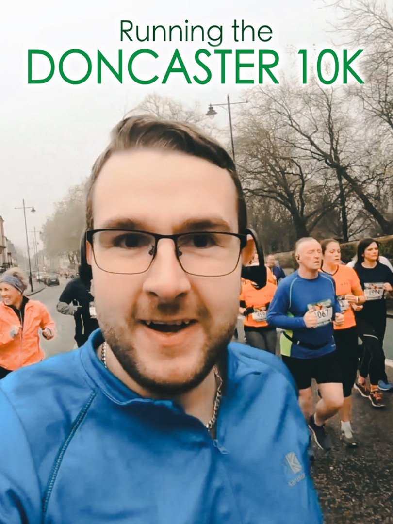 Running the DONCASTER 10K!