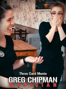 Greg Chipman Magician: Three Card Monte