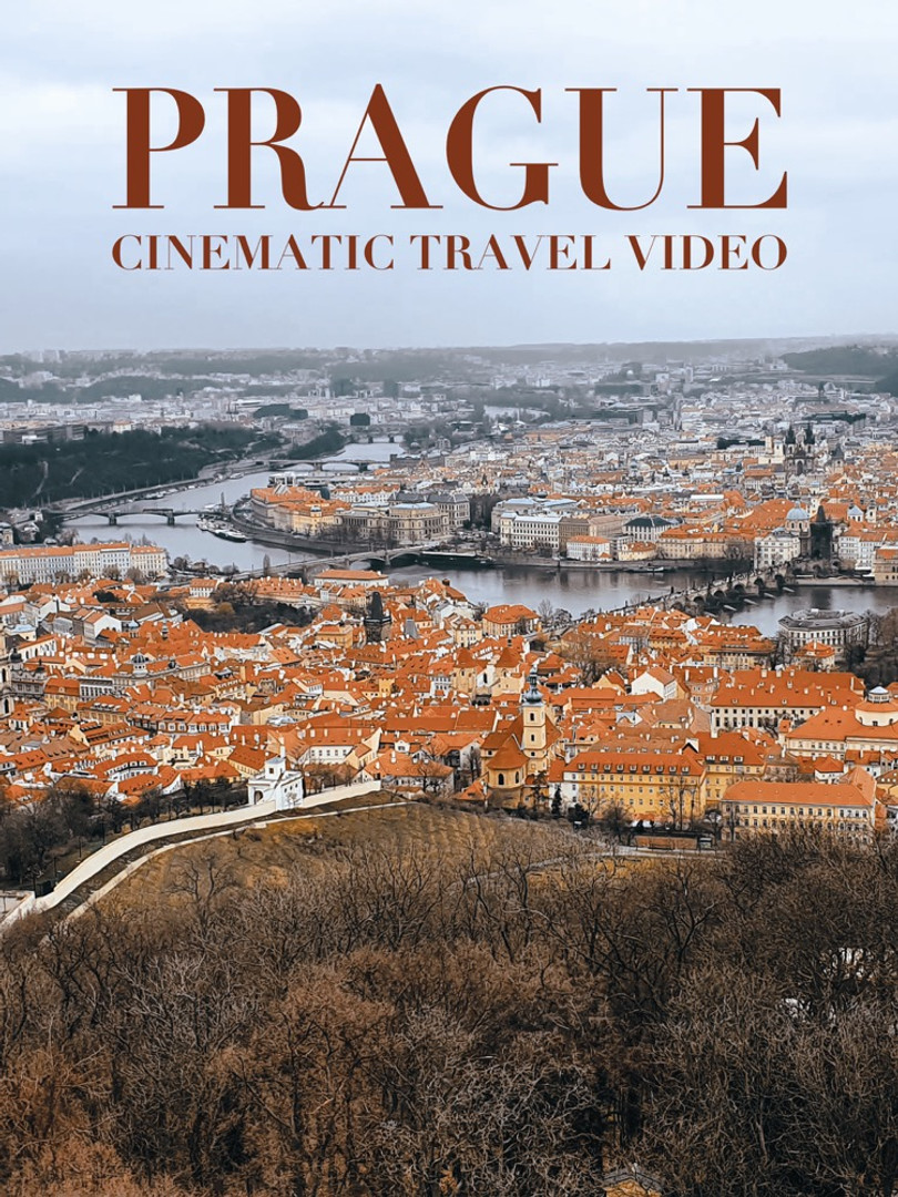 PRAGUE | Cinematic Travel Video