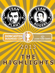 Crown Hotel Bawtry Doncaster Business Cup 2013 - Highlights