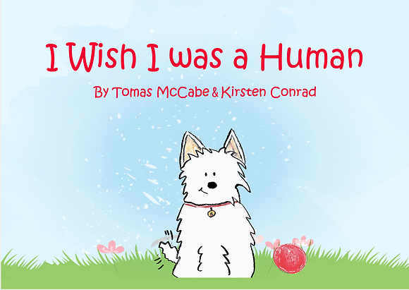 I Wish I was a Human - Children's Book