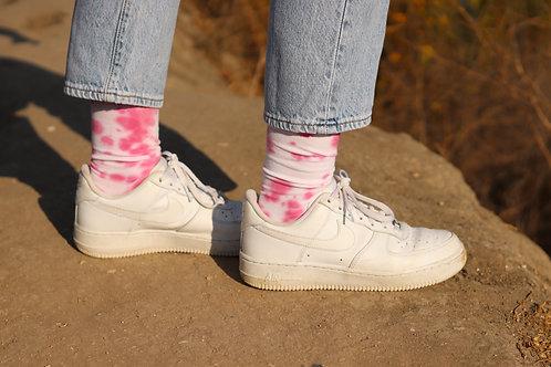 Cotton Candy Crew Socks