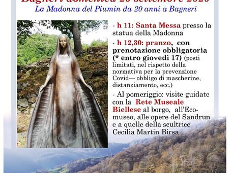 Feste della madonna del piumin, da 20 anni a Bagneri