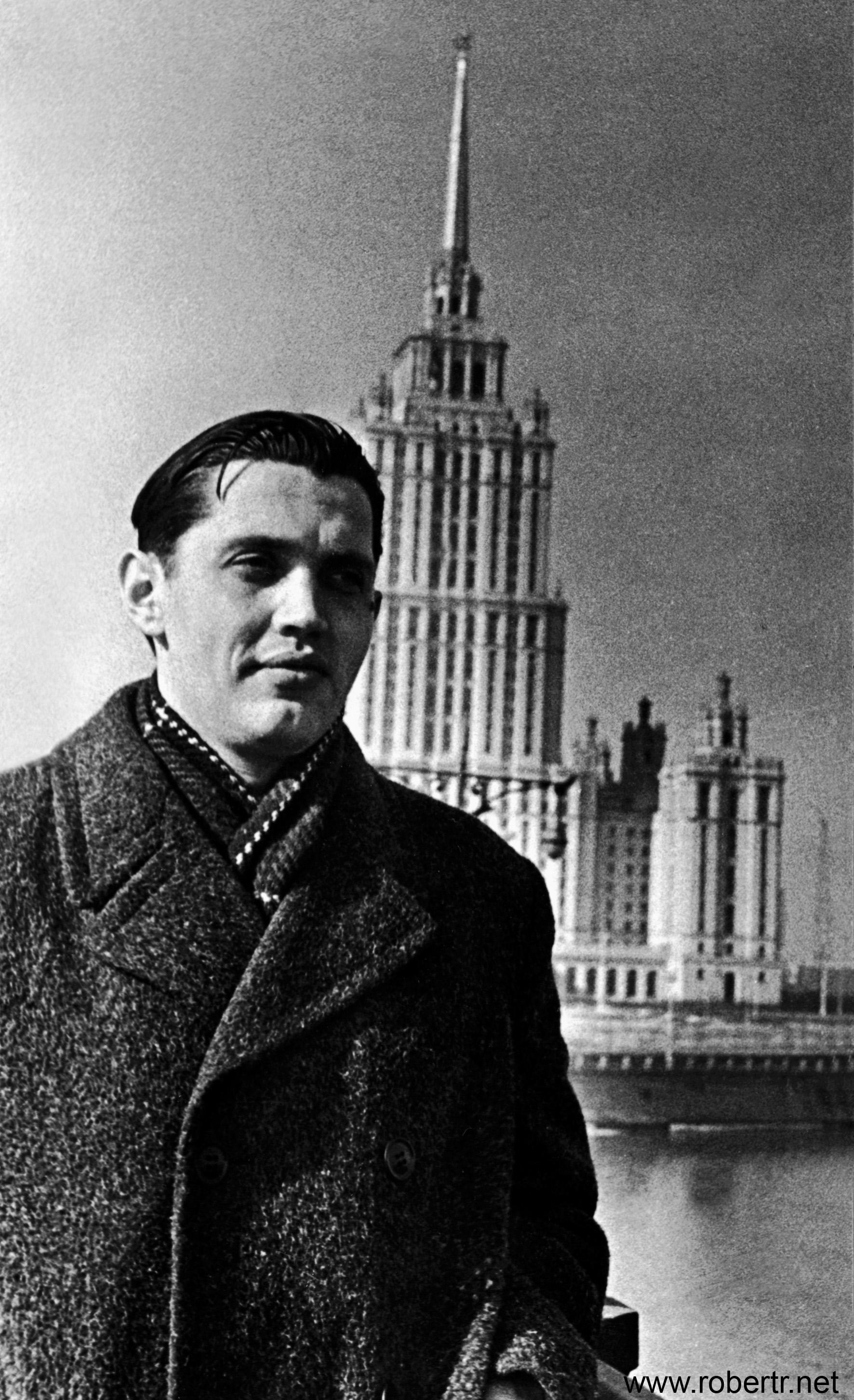 Роберт Рождественский в Москве
