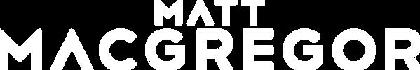 Matt MacGregor Logo White
