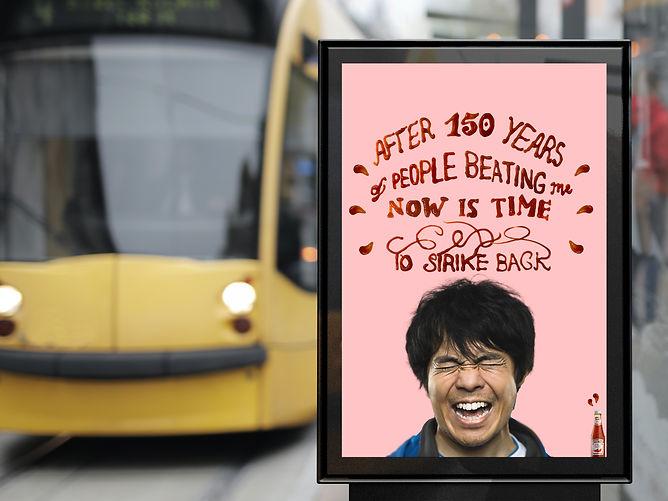 Outdoor Bus Stop Advertisement Vertical