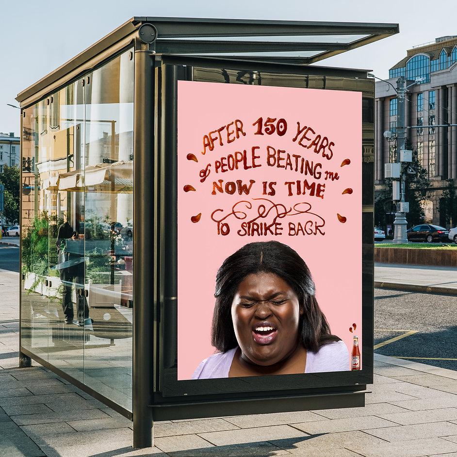 Heinz street billboard