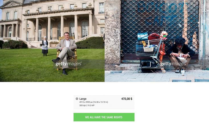 Getty rich & poor