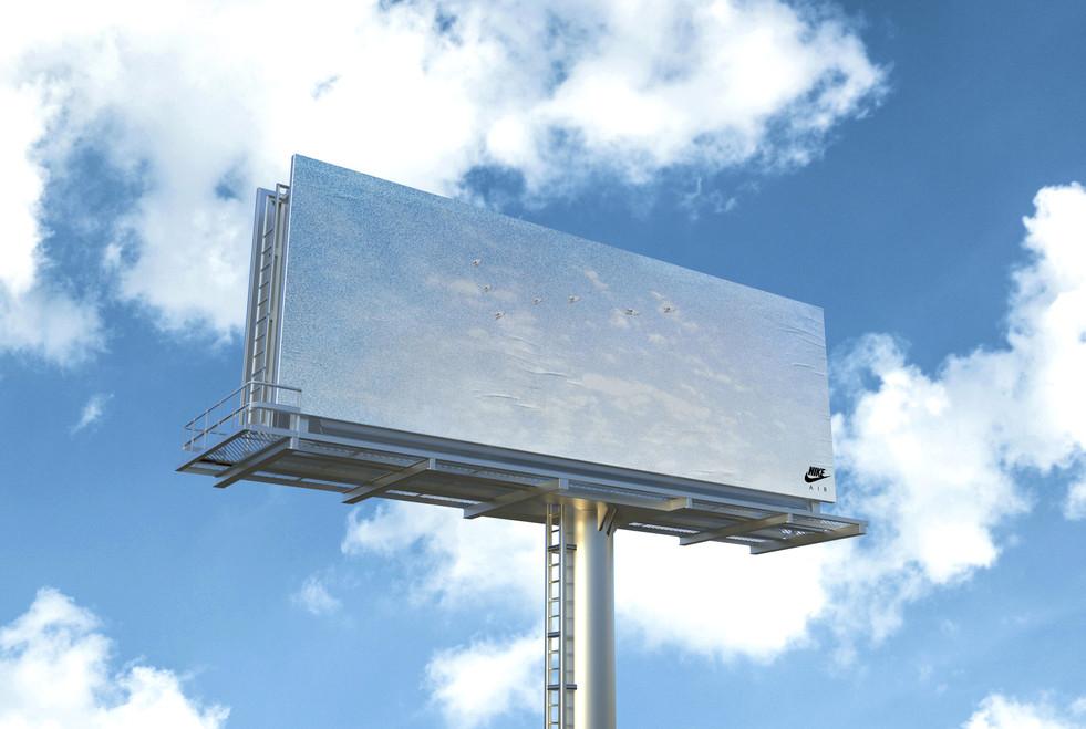 Nike billboard